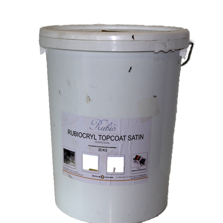 rubiocryl topcoat satin anthraciet (25kg)