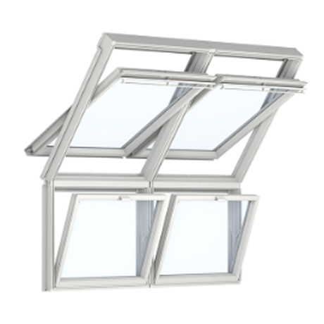 VELUX GIL 2070/vast glaselement 134x92/UK34